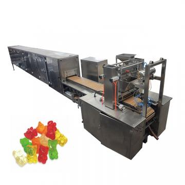 Good quality sweet lollipop making machine manufacturing soft gummy bear candy maker process production line