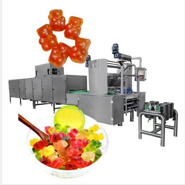Automatic Jelly Candy Depositing Line Gummy Candy Machine Candy Production Line Manufacturer