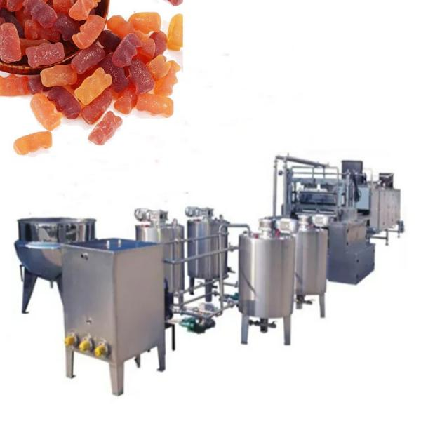 150 Kg/H Full Automatic Gelatin Jelly Candy Depositing Line Bear Gummy Candy Making Machine Hot Sale Made in China