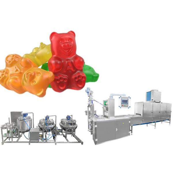 Jelly Gummy Candy Making Machinery of Food Confectionery